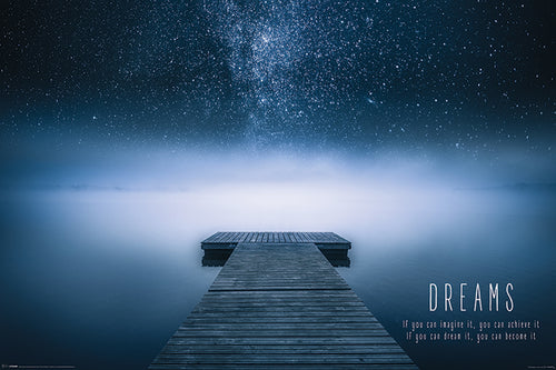 Dreams - Inspirational Poster - egoamo.co.za