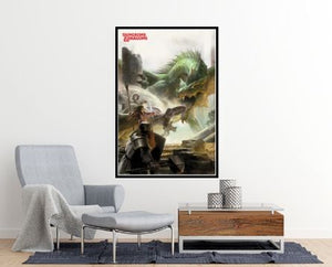 Dungeons and Dragons Poster - egoamo.co.za