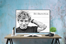 Ed Sheeran Poster - egoamo.co.za
