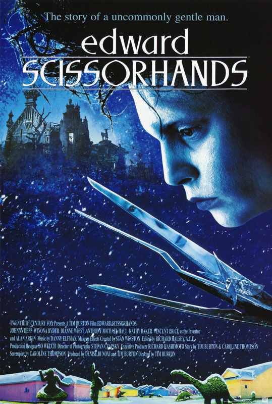 Edward Scissorhands Poster - egoamo.co.za