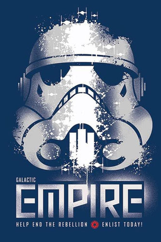 Star Wars - Galactic Empire - Poster - egoamo.co.za