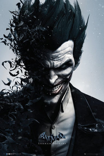 Batman Arkham Origins - Joker Poster - egoamo.co.za