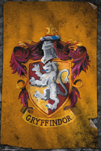 Harry Potter - Gryffindor Flag Poster - egoamo.co.za
