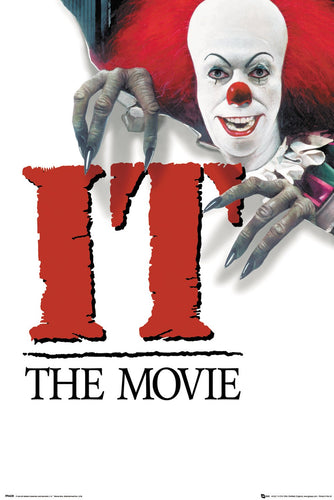 Stephen Kings IT (1990) Movie Poster - egoamo.co.za