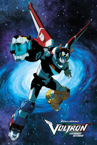 Voltron - Legendary Defender Poster - egoamo.co.za