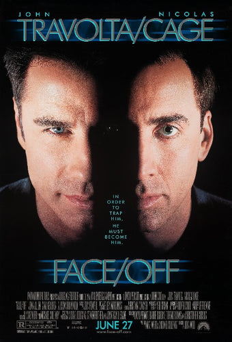 FAce Off Movie Poster - egoamo posters