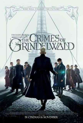 Fantastic Beasts : The Crimes of Grindelwald Original Double Sided Cinema One Sheet Poster - egoamo.co.za