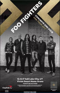 Foo Fighters - Concrete and Gold Concert Poster - egoamo.co.za
