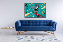 Fortnite - Laser Shark Poster - egoamo.co.za