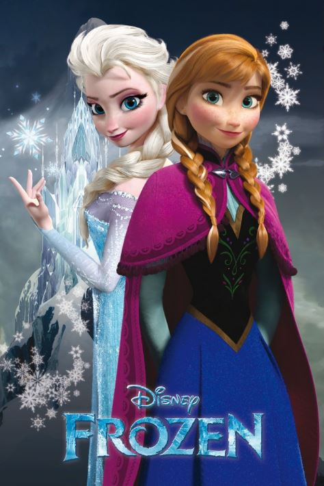 Disney's Frozen - Poster - egoamo.co.za