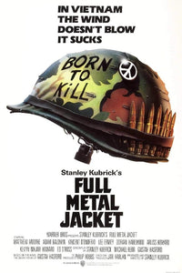Full Metal Jacket Movie Poster - egoamo posters