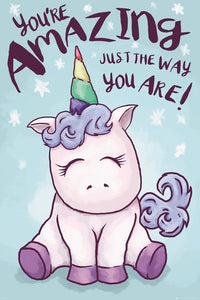 You're Amazing Unicorn Poster - egoamo.co.za