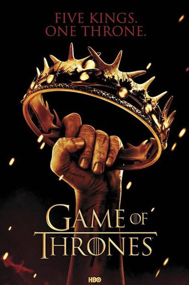 Game of Thrones - Crown Poster - egoamo.co.za