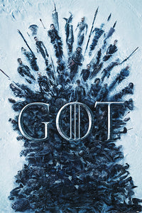 Game of Thrones - Throne of the Dead Poster - egoamo.co.za