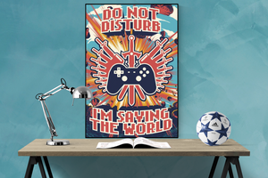 Do not disturb - Poster - egoamo.co.za