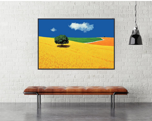 Gio Mondelli Colline toscane Art Print |-egoamo posters room mock up