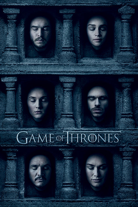 Game of Thrones - Hall of Faces - Poster - egoamo.co.za