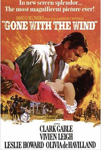 Gone with the Wind - Movie Poster - egoamo.co.za