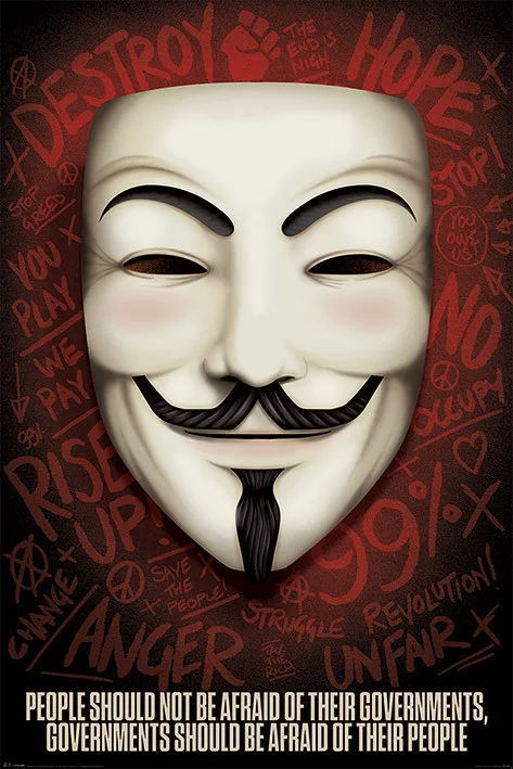 V for Vendetta - Poster - egoamo.co.za