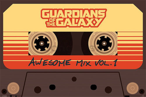 Guardians of the Galaxy - Cassette Awesome Mix Poster egoamo.co.za posters