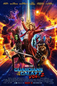 Guardians of the Galaxy Vol 2 (with credits) Poster - egoamo.co.za