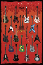 Guitar Hell Collection Poster egoamo.co.za Posters
