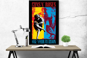Guns n Roses - Use you Illusion - Poster - egoamo.co.za