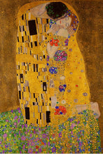 Gustav Klimt - The Kiss - Art poster - egoamo posters