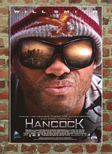 Hancock - Laminated and Mounted DVD Store Poster - egoamo.co.za