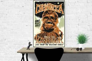Star Wars - Chewbacca - Poster - egoamo.co.za