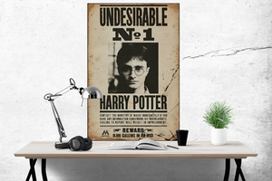 Harry Potter - Undesirable No.1 - Poster - egoamo.co.za