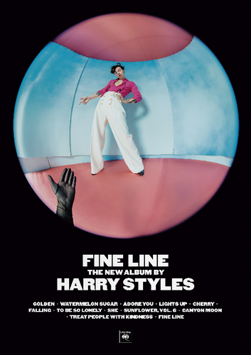 HArry Styles Album Poster