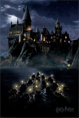 Harry Potter - Hogwarts Boats Poster - egoamo.co.za