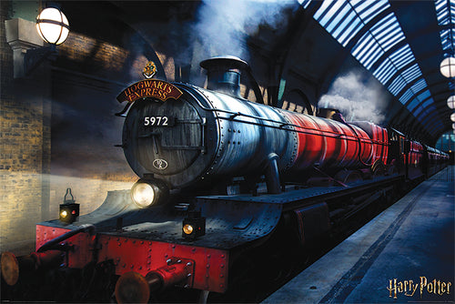 Harry Potter Train Poster