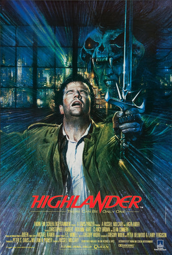 Highlander Poster - egoamo.co.za