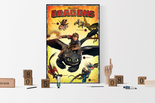 How to Train Your Dragon: The Hidden World - Dragons Poster - egoamo.co.za