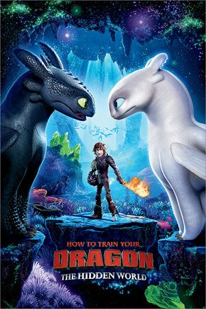 How to Train Your Dragon: The Hidden World - Movie Poster - egoamo.co.za
