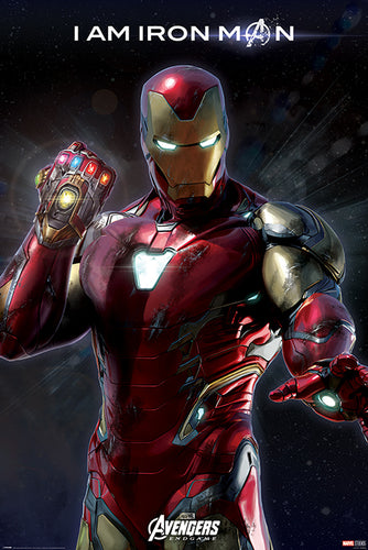 Avengers Endgame - I am Iron Man Poster - egoamo.co.za