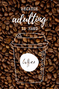 EgoAmo Original - Coffee Poster - egoamo.co.za