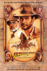 Indiana Jones and the Last Crusade Movie poster - egoamo posters