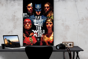 Justice League - Save the World - Poster - egoamo.co.za