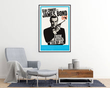 James Bond 007 From Russia with Love Movie Poster - egoamo posters