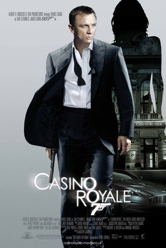 James Bond - Casino Royale Poster - egoamo.co.za