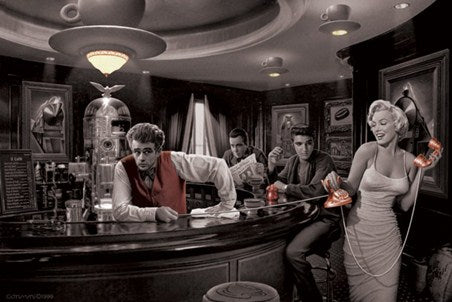 Java Dreams Chris Consani Icons Art Poster - egoamo.co.za