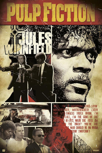 Pulp Fiction - Jules Winnfield Poster - egoamo.co.za