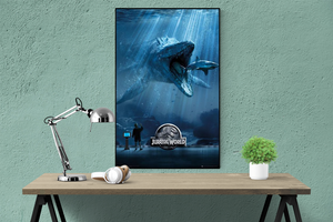 Jurassic World Mosa Poster - egoamo.co.za