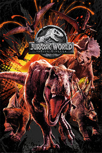 Jurassic World: Fallen Kingdom Poster - egoamo.co.za