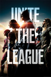 Justice League - Unite the League - Poster - egoamo.co.za