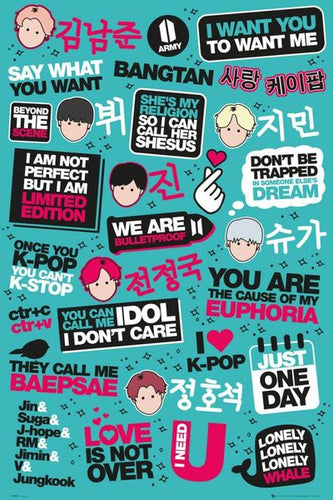 K-Pop Poster - egoamo.co.za