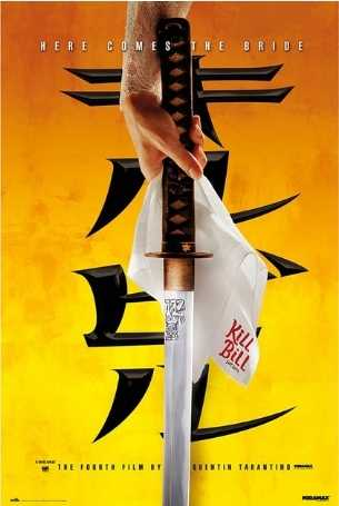 Kill Bill Vol:1 Teaser Poster